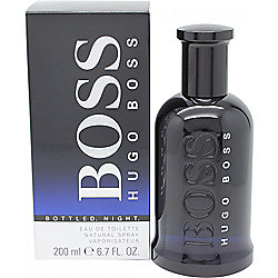 Hugo Boss Boss Bottled Night Eau de Toilette (EDT) 200ml Spray For Men