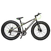 "2015 Coyote Fatman Fat Bike 26"" x 4"" with Disc Brakes Grey"