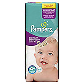 Pampers Active Fit Size 4+ Large Pack - 50 nappies