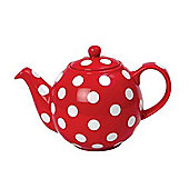 London Pottery Globe Teapot, 2 Cup, Red with White Spots