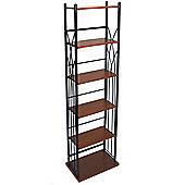 Dakota - 100 Dvd Blu-ray / 150 Cd Media Storage Tower Shelves - Black