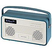 View Quest Retro ColourGen DAB+/FM Radio with iPod Dock (Teal, 30 Pin)