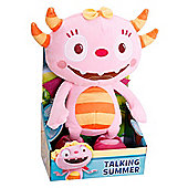 Talking Summer Hugglemonster Soft Toy