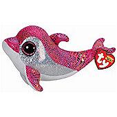 """Ty Beanie Boos - Sparkles the Dolphin 10"""" BUDDY"""