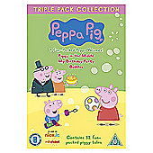 Peppa Pig - Piggy In The Middle / My Birthday Party / Bubbles (Triple Pack) (DVD Boxset)
