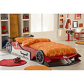 Altruna Red Formula One Car Bed Frame