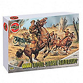 WWI Royal Horse Artillery (A01731) 1:72