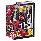 Barbie Style Pink Denim Jacket Doll