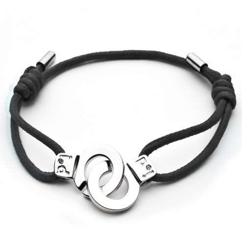 i.d x-change Cuffs of Love Bracelet - Black Small