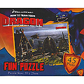 How to Train Your Dragon - Berk Village Jigsaw Puzzle