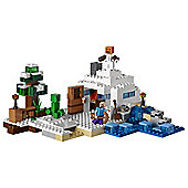 LEGO Minecraft The Snow Hide out 21120