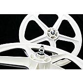"""Skyway Tuff ii 20"""" Wheelset - White"""