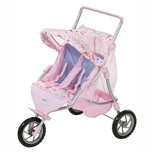 Baby Born 515 810194 Twin Jogger