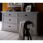 Whitehaven Painted 6 Drawer Chest Of Drawers