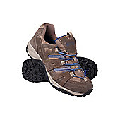 Direction Womens Waterproof Walking Hiking Shoes - Brown