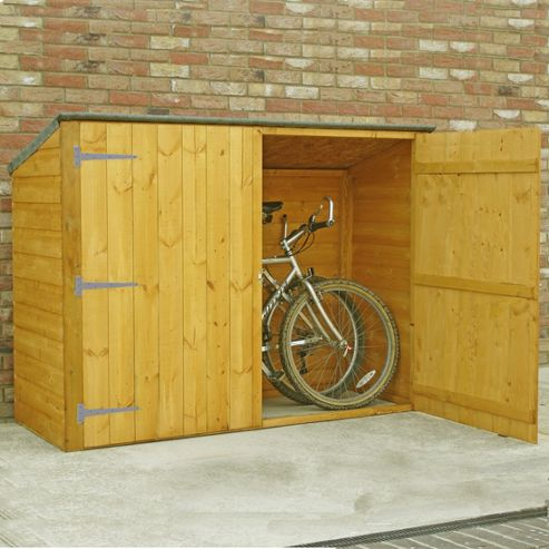 Ideas plan bike storage shed tesco for Garden shed tesco