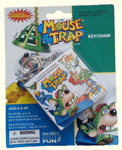 Mouse Trap Keychain