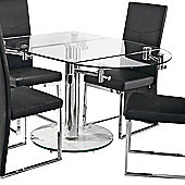 Home Essence Oval Extending Dining Table