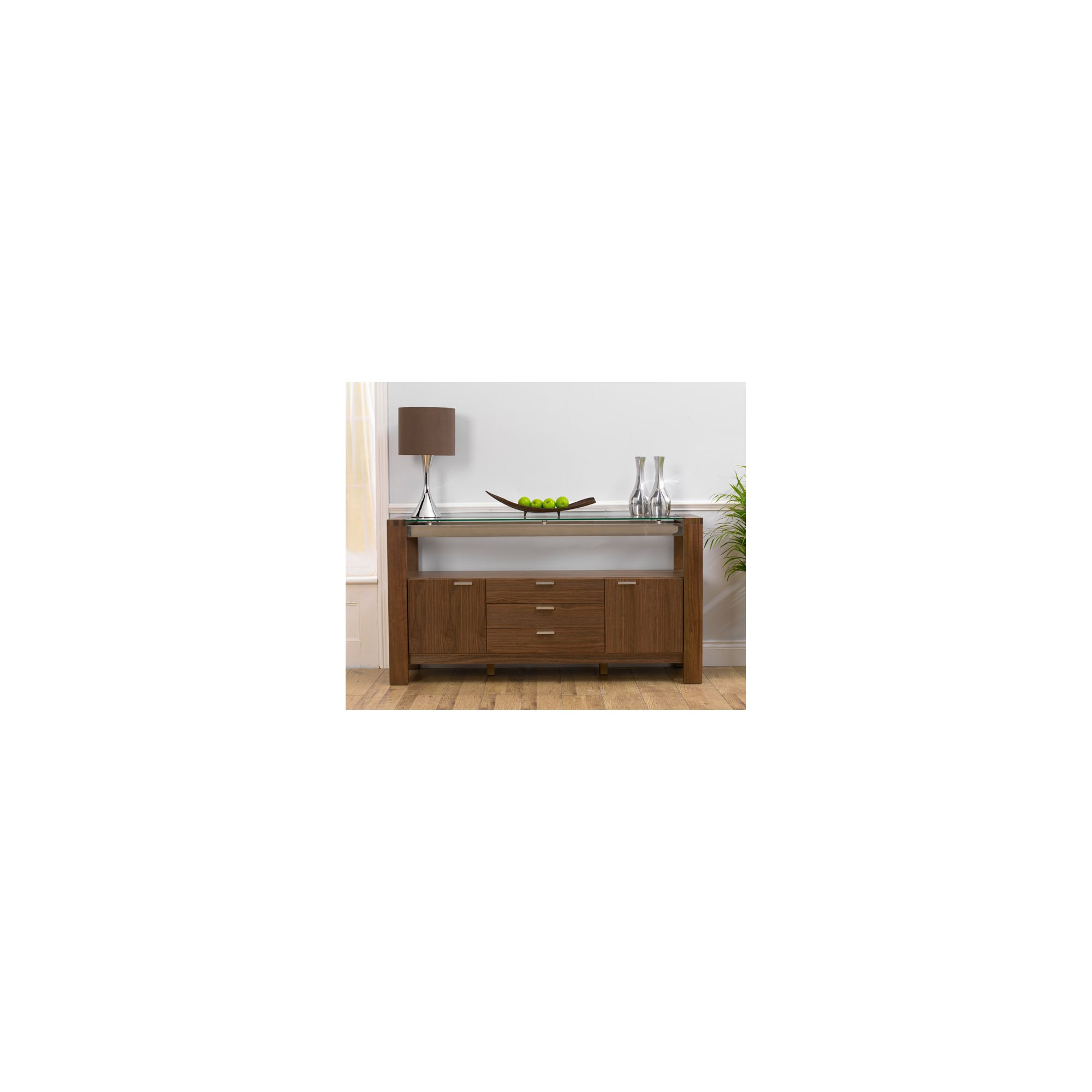 Mark Harris Furniture Roma Walnut Sideboard at Tesco Direct