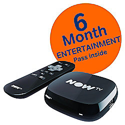 NOW TV HD Digital Media Streamer with Sky Entertainment 6 Month Pass