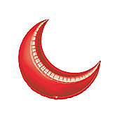 Red Crescent Balloons - 17' Foil Balloon (5pk)