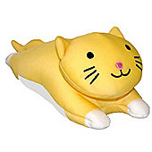 Cozy Time Micro Pals Screen Wipe Yellow Cat