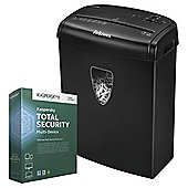 Fellowes H8 Shredder and Kaspersky Security 2016