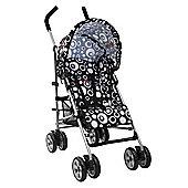 Tippitoes Spark Stroller (Black Circles)