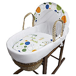 Kinder Valley Jolly Jungle Moses Basket
