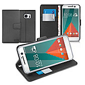 Multifunctional Wallet Cases for HTC 10 - Black