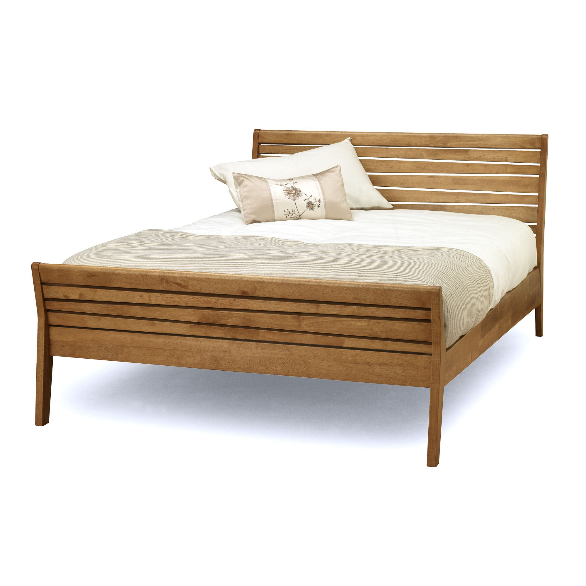 Serene Furnishings Zahra Bed - Honey Oak - Single at Tesco Direct