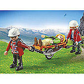 Playmobil - Mountain Rescuers with Stretcher 5430