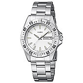 M-Watch Drive Mens Stainless Steel Day & Date Watch A667.30436.08