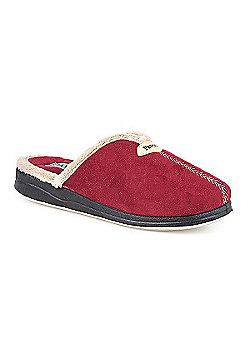 Pavers Mule Slipper Beige - 2 - Red