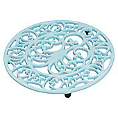 VICTOR Octopus and Fish Trivet in Pale Blue