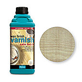 Polyvine Wax Finish Varnish - Golden Pine - 1 Litre