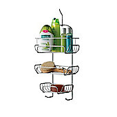 Premier Housewares 3 Tier Shower Caddy in Chrome