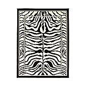 Element Wildlife Zebra Black/White 120x160 cm Rug