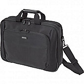 14-15.6 inch. Top Performer Dual Notebook carrying Case - Black.