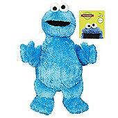 Sesame Street Furchester Friends Jumbo Soft Cookie Monster