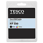 Tesco - HP 300 Black and Colour Combo pack printer ink cartridge