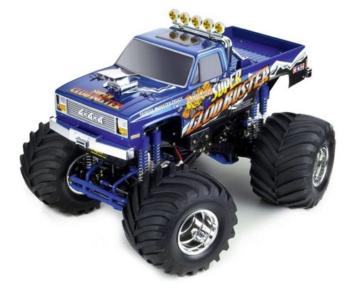 Remote Control - 1:10 Scale R/C 4x4x4 Pick-up Truck Super Clod Buster - Tamiya
