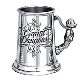Granddaughter Pewter Tankard Baby Christening Cup