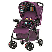 Obaby Monty Travel System, Purple Stripe