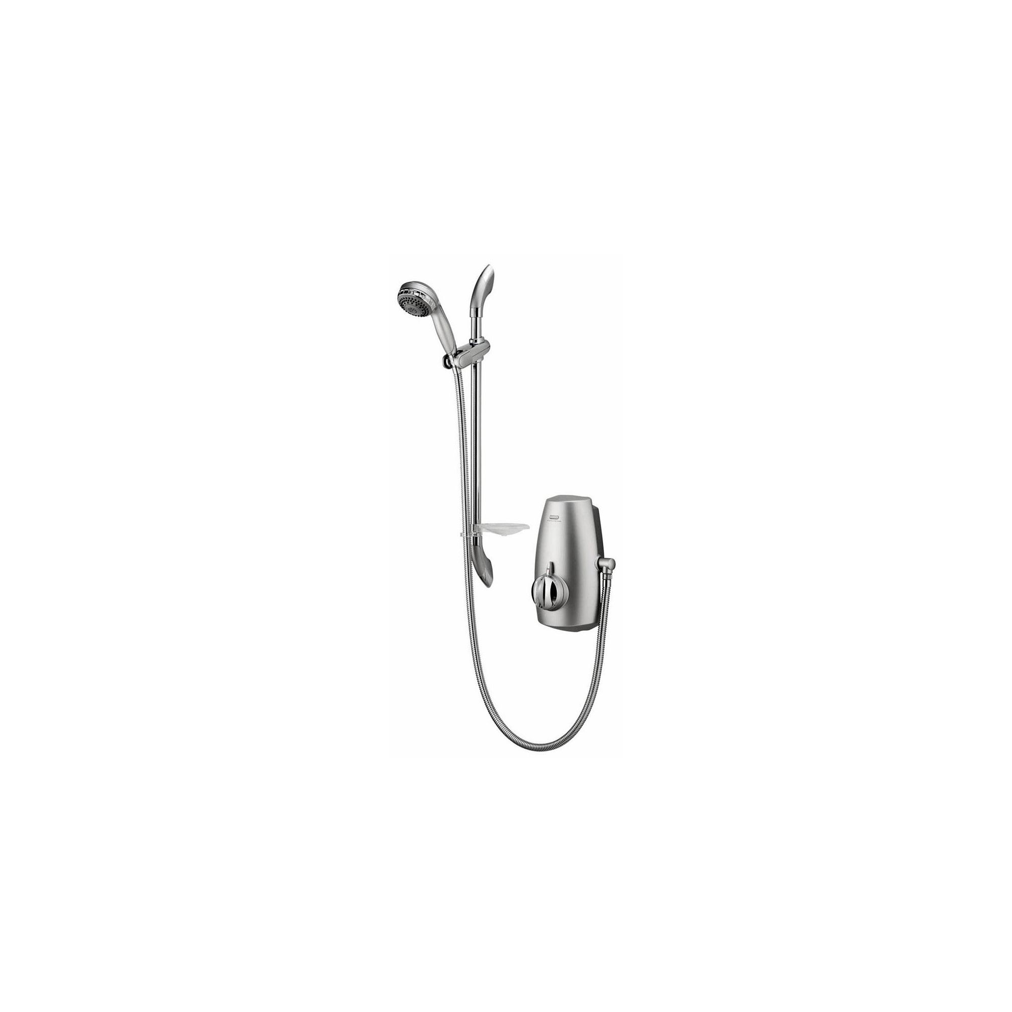 Aqualisa Aquastream Thermo Power Shower with Adjustable Head Chrome at Tescos Direct