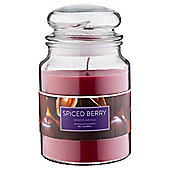 Tesco Jar Candle, Spiced Berry