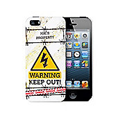 Personalised Keep Out iPhone 5 Case Phone Protector