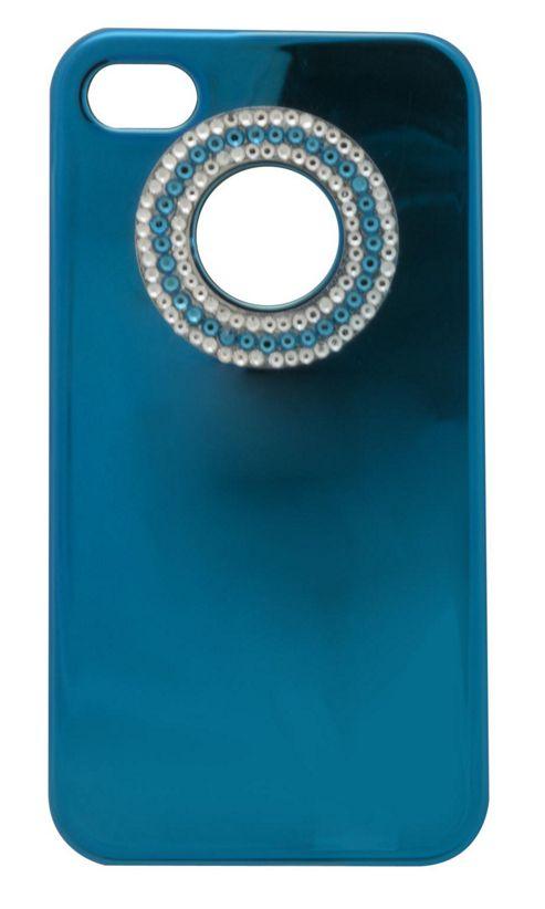 Tortoise™ Look Hard Case iPhone 4/4S Metallic Gem Blue