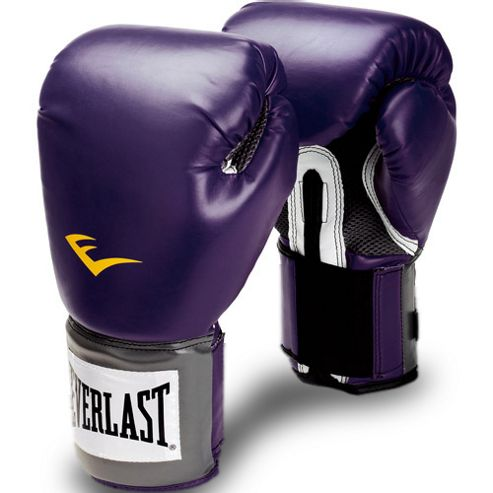 Everlast Womens Pro Style Training Glove Black Orchid 14oz