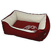 Cool Pets Red Frog Dog Sofa Bed - Small